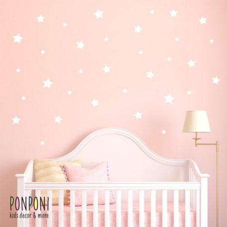 מדבקות כוכבים | מדבקות קיר | מדבקות קיר לחדר ילדים  | מדבקות טפט | טפט לחדר | טפט לחדרי ילדים | מדבקות קיר לתינוקות |אקססוריז לחדרי ילדים
