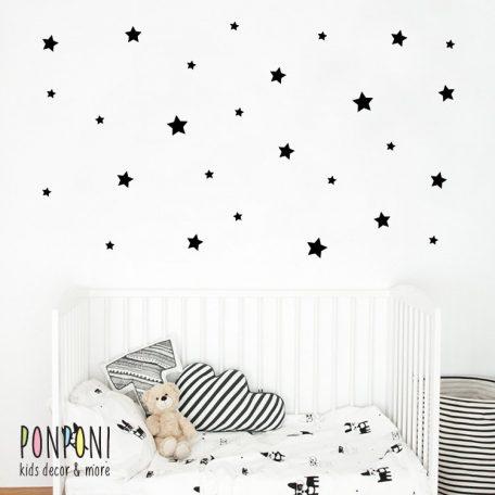 מדבקות כוכבים | מדבקות קיר | מדבקות קיר לחדרי ילדים  | מדבקות טפט | טפט לחדר | טפט לחדרי ילדים | מדבקות קיר לתינוקות |אקססוריז לחדרי ילדים