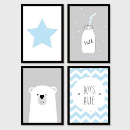סט פוסטרים לילדים | פוסטר | פוסטרים לחדרי ילדים | תמונות לילדים | תמונות לחדרי לילדים | תמונות ממוסגרות