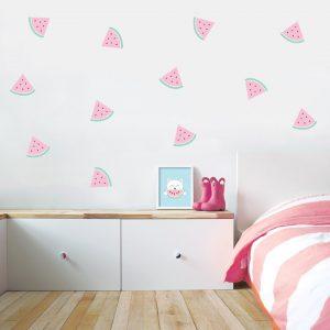 מדבקות קיר אבטיח