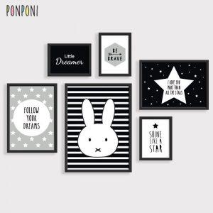 תמונות לחדר ילדים ארנב