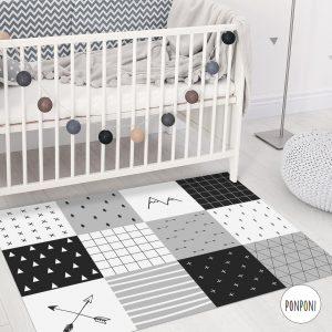 שטיח pvc לחדרי ילדים וחדרי תינוקות - טלאים