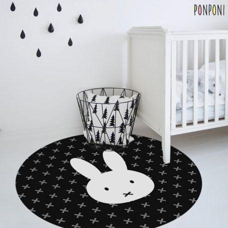 שטיח לחדר ילדים ארנב
