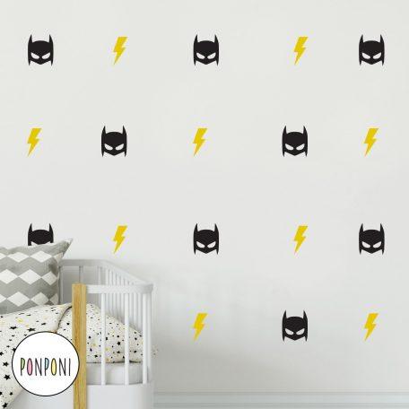 מדבקות באטמן | מדבקות בצורת באטמן | מדבקות גיבור על | מדבקות ברקים | מסכת באטמן