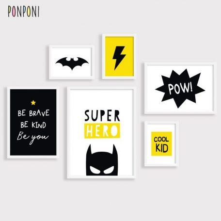 גיבורי על | באטמן | תמונות לחדרי ילדים | פוסטרים לחדרי ילדים |  תמונות לילדים |  תמונות תעוצבות לילדים | פוסטר מעוצב לילדים