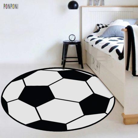 שטיח עגול לחדר ילדים עגול כדורגל