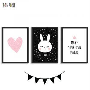 תמונות לחדר ילדים ארנבת magic