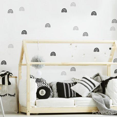 מדבקות קיר קשת בענן | מדבקות קיר לילדים | מדבקות קיר בצבעי הקשת | מדבקות קיר לחדרי ילדים | אקססוריז לחדרי ילדים  |מדבקות קיר בתפזורת | עיצוב חדרי ילדים | חדר ילדים בוהו | עיצוב סקנדינבי