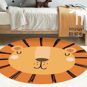 שטיח לחדר ילדים אריה עשוי PVC