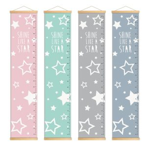 מד גובה כוכבים לחדר ילדים