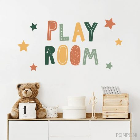 מדבקת קיר לחדר ילדים פליירום