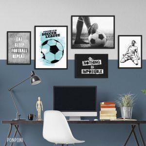 תמונות כדורגל לחדר נוער