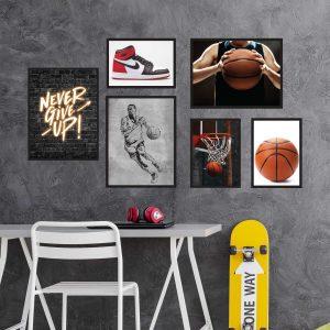 תמונות לחדרי נוער כדורסל