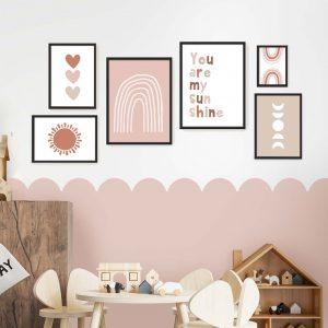 תמונות לחדר ילדה בוהו